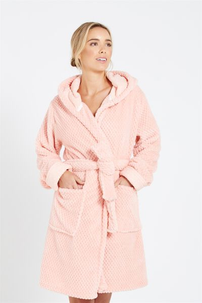 Luxe Plush Gown, MELON CHOLY