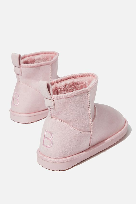 Cropped Home Boot, BLUSH