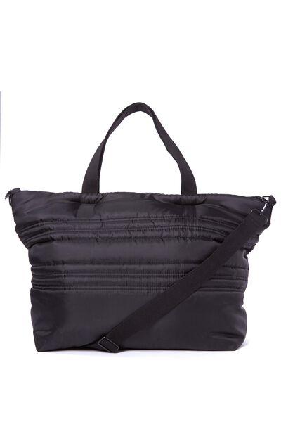 Weekender Puffer Bag, BB BLACK