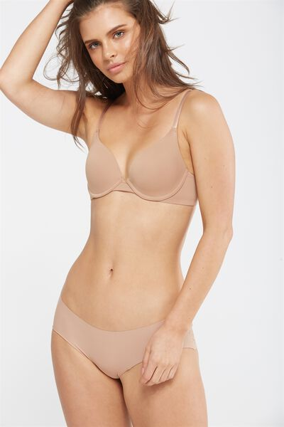 Everyday T Shirt Bra, CINNAMON