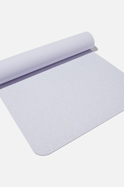 Printed Yoga Mat, CHALKY LAVENDAR NOMINAL SPOT