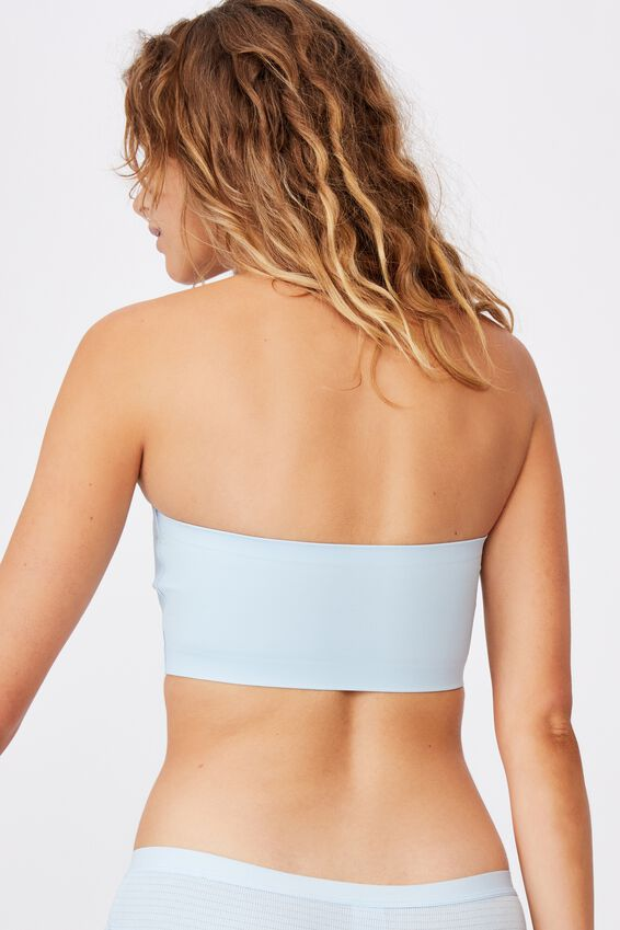 Everyday Bonded Bandeau, CLEAR SKY