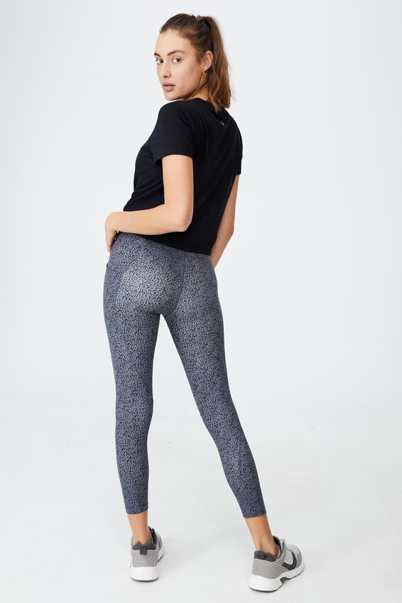 Ultimate Booty 7/8 Tight, BRUSH NOMINAL PEWTER GREY