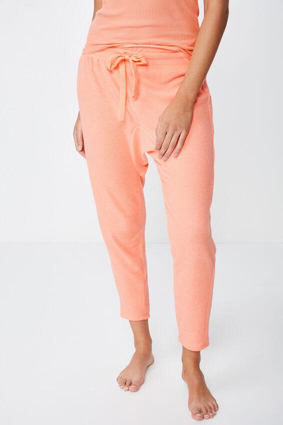 Supersoft Drop Crotch Pant, CAMEO PINK MARLE