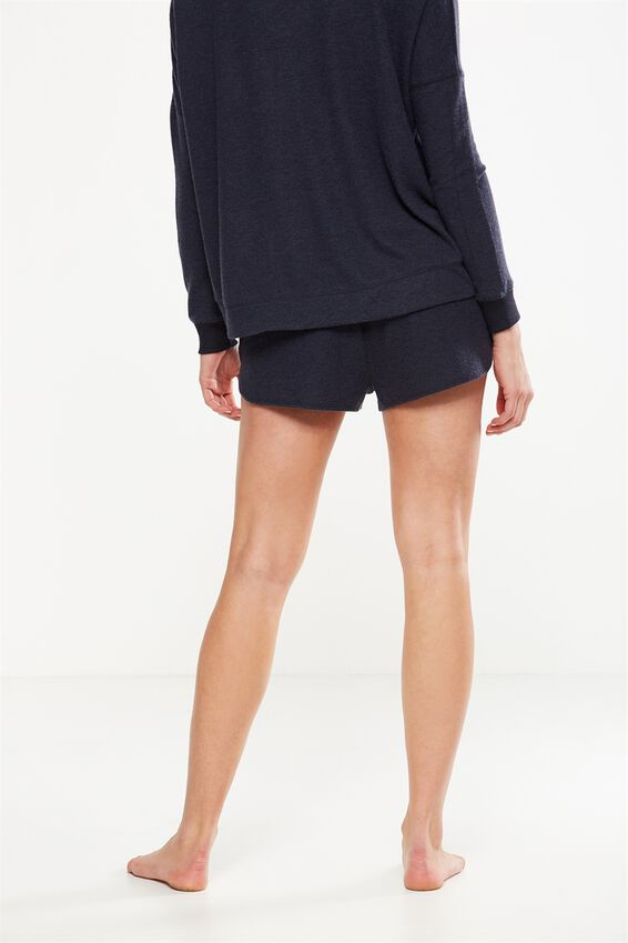 Supersoft Lounge Short, NAVY BABY MARLE