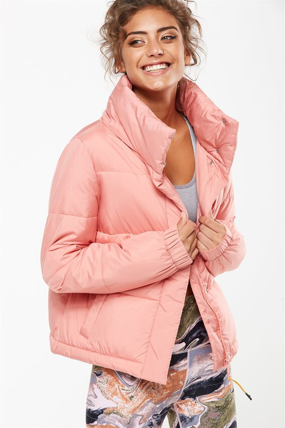 Explorer Puffer Jacket, DUSTY CLAY