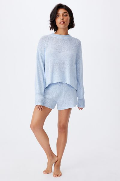 Summer Lounge Long Sleeve, BABY BLUE