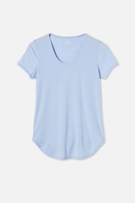 Gym T Shirt, CORNFLOWER LILAC