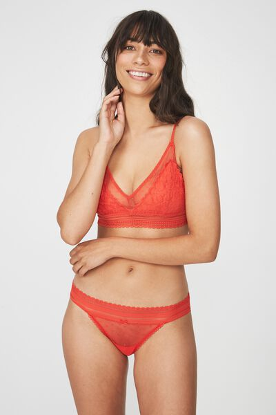 Stephanie Bralette, ORANGE RED