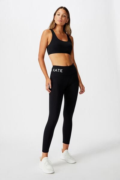Personalised Core 7/8 Tight, BLACK