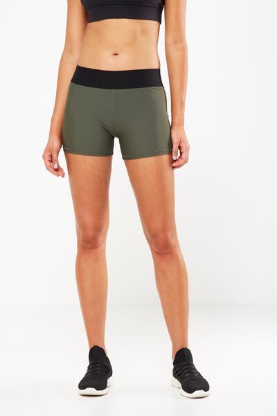 Active Gym Short, EVERGREEN