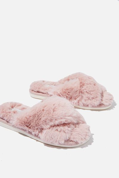 Arlie Crossover Slipper, BLUSH
