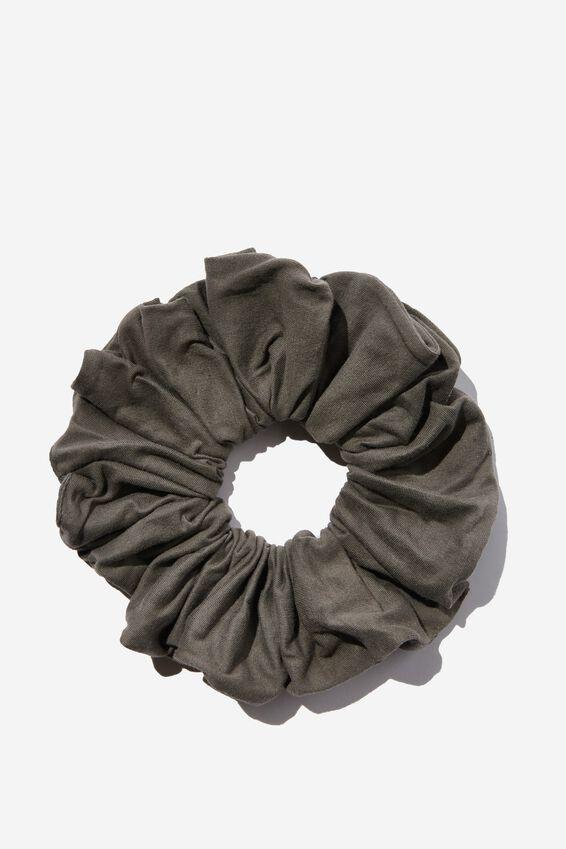 Organic Cotton Super Scrunchie, CASTLE ROCK