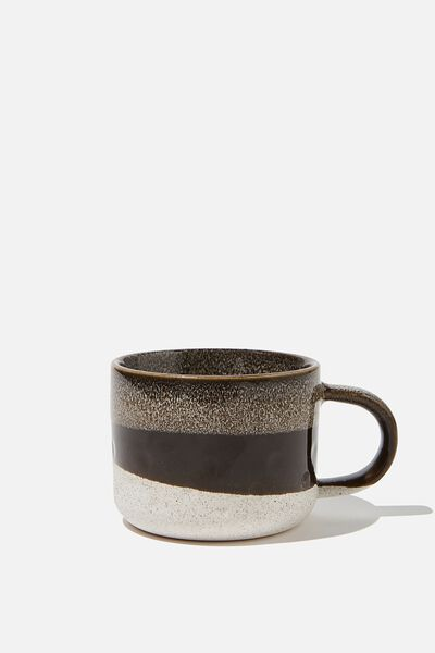 Gratitude Mug, CHARCOAL
