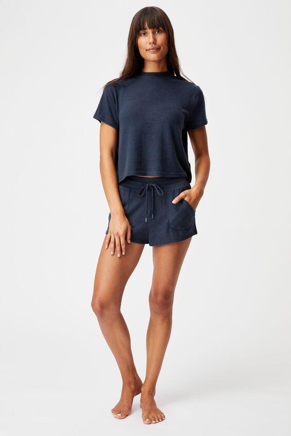 Super Soft Lounge T-Shirt, MAGNET BLUE