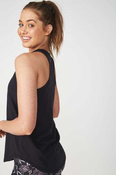 Workout Tank Top, BLACK