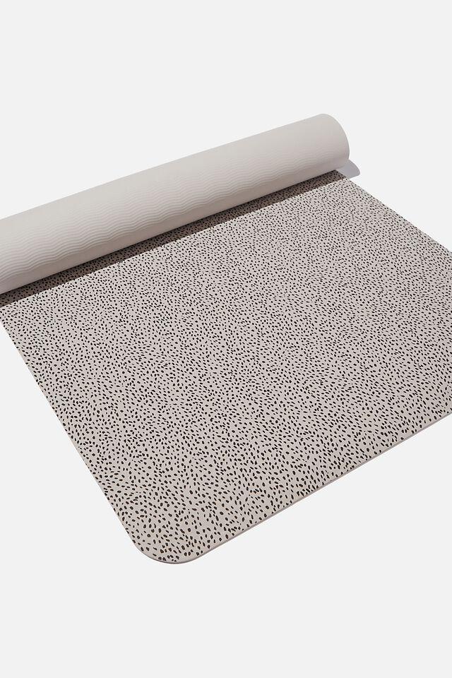 Printed Yoga Mat, QUAIL NOMINAL SPOT