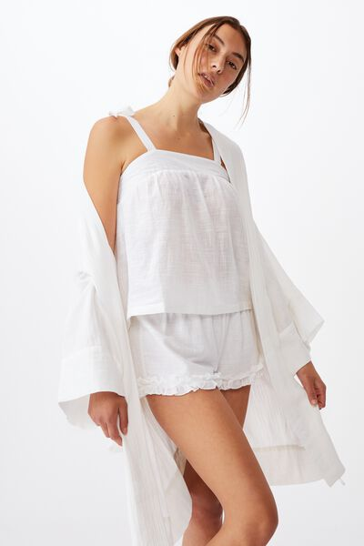 I-Do Robe, WHITE