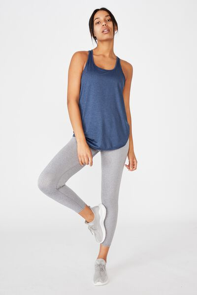 Training Tank Top, DARK INDIGO MARLE