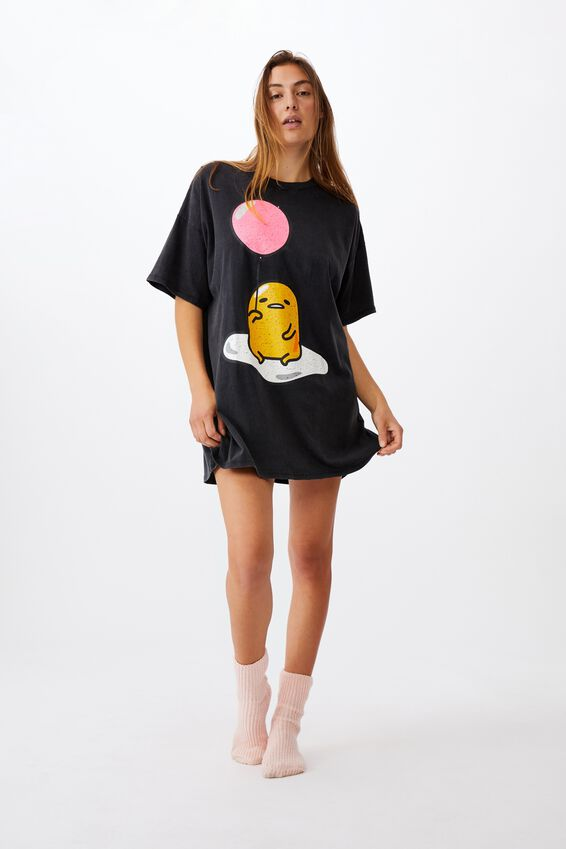 90 S Tshirt Nightie, LCN SAN LAZY EGG