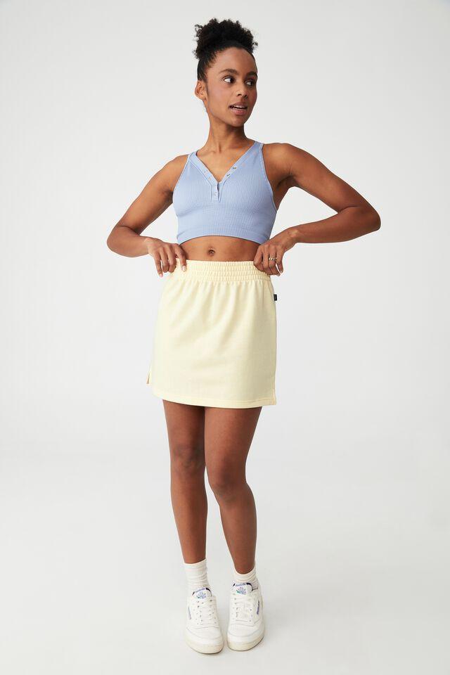 Lifestyle Fleece Skirt, SUGAR COOKIE