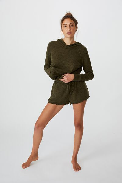 Super Soft Relaxed Short, KHAKI TONAL