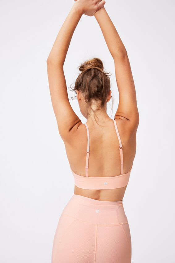 Lifestyle Seamless V-Neck Crop, FAIRY TALE