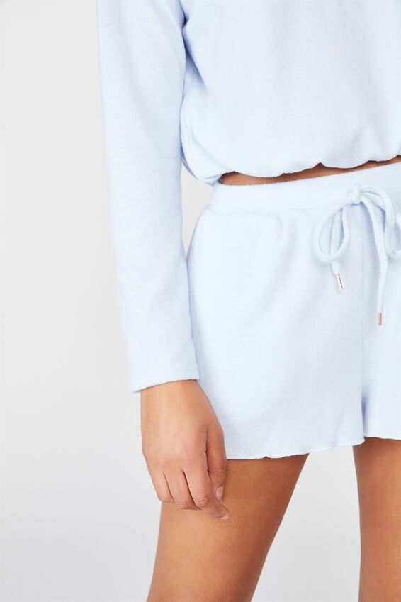 Super Soft Relaxed Short, SOFT BLUE MARLE