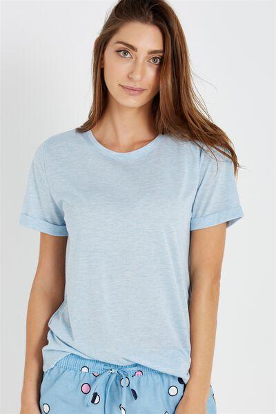 Sparkle Short Sleeve Tshirt, ICE ICE BABY MARLE