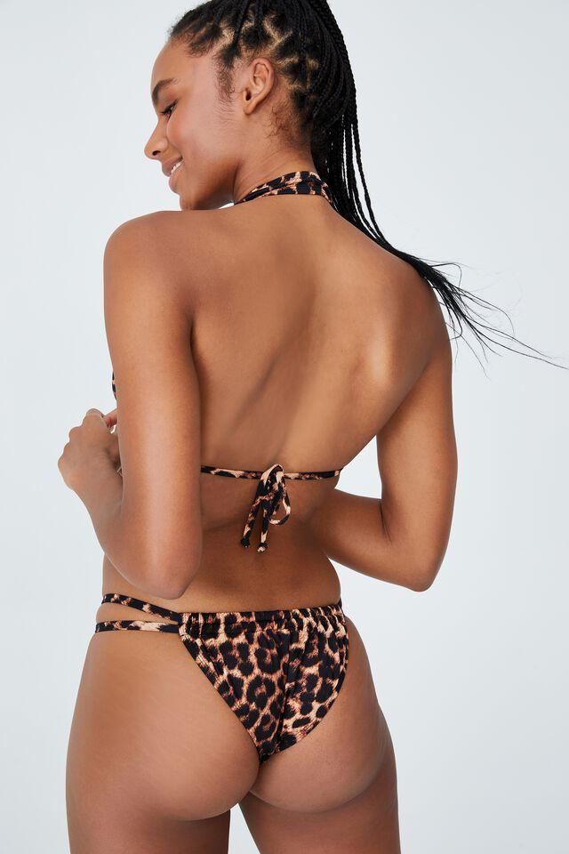 Floss Bikini Top, EXOTIC LEOPARD