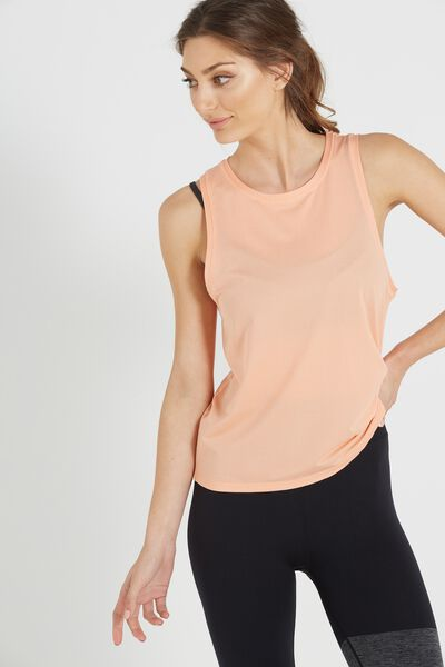 Textured Muscle Tank Top, MANGO