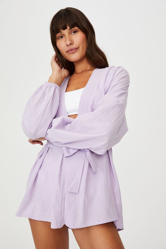 Beach Cover Up, VIOLET