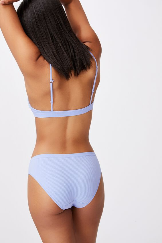 Seamfree Bikini Brief, CORNFLOWER LILAC