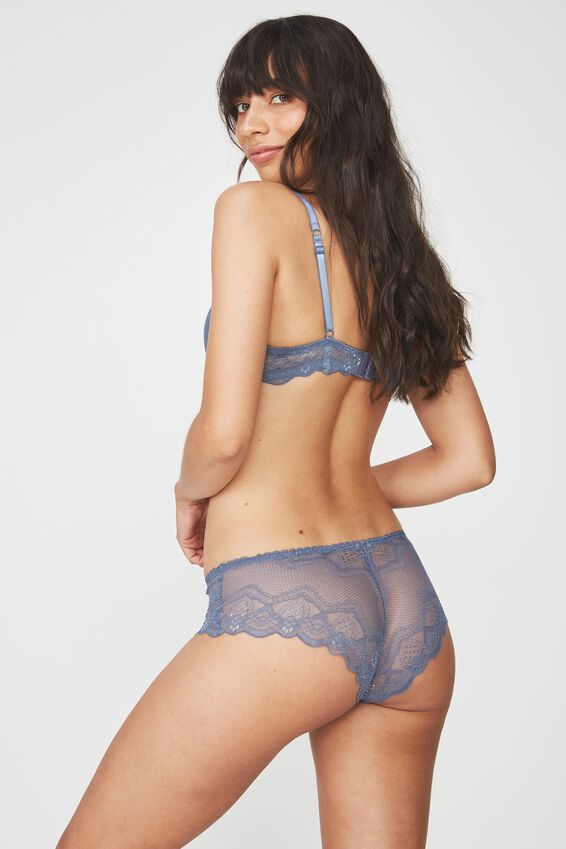 Cindy Boyleg Brief, STORM BLUE