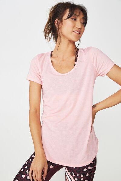 Gym T Shirt, MERINGUE