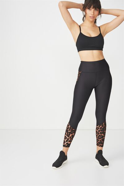 Lightweight Studio 7/8 Tight, LEOPARD