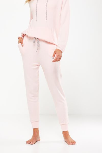 Super Soft Slim Fit Pant, SWEET PINK MARLE