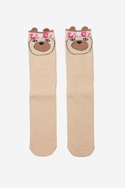 Novelty Sock, PUG