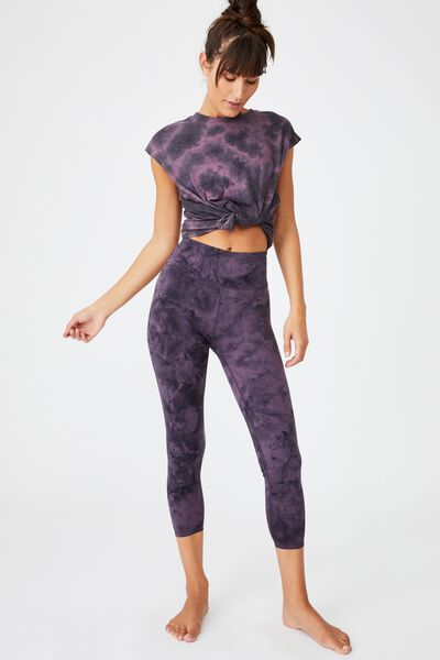 Marble 7/8 Tight, MULBERRY