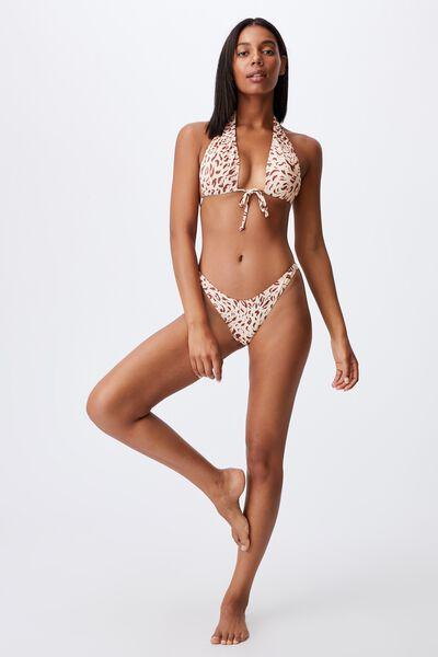 Floss Bikini Top, MOVEMENT LEOPARD