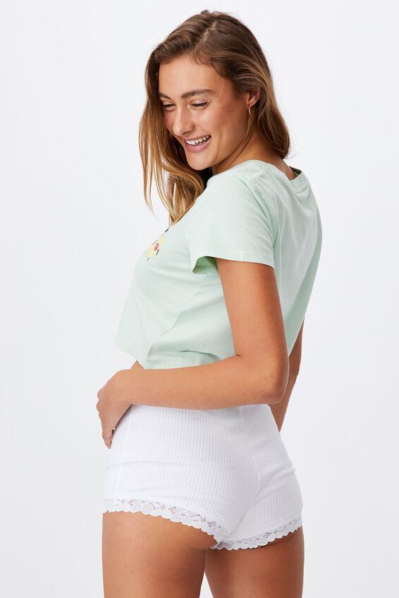 Baby Sleep T-Shirt, LCN IRVINS SALTED EGG CHARACTER LINEUP