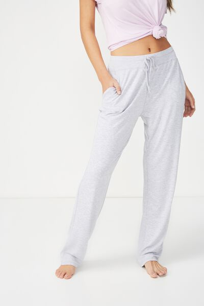 Sleep Recovery Relaxed Pant, GREY MARLE