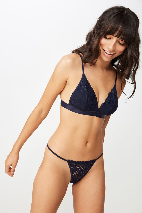 Audrey Tanga G-String Brief, MIDNIGHT