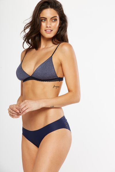 The Body Supersoft Bralette, MIDNIGHT MARLE