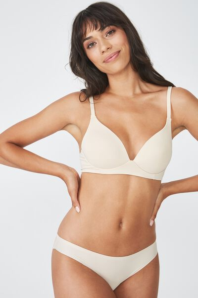 Wirefree Everyday T-Shirt Bra, FRAPPE