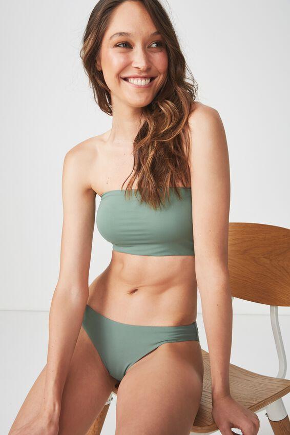 Classic Full Bikini Bottom, FERN GREEN MATTE