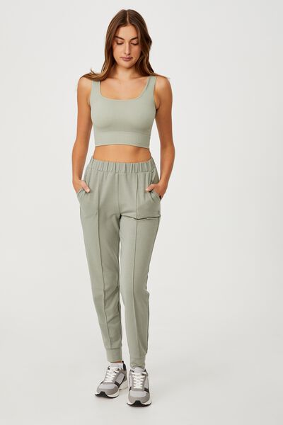 All Day Studio Pant, GREEN HAZE