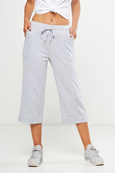 Culotte Trackpant, CLOUDY GREY MARLE