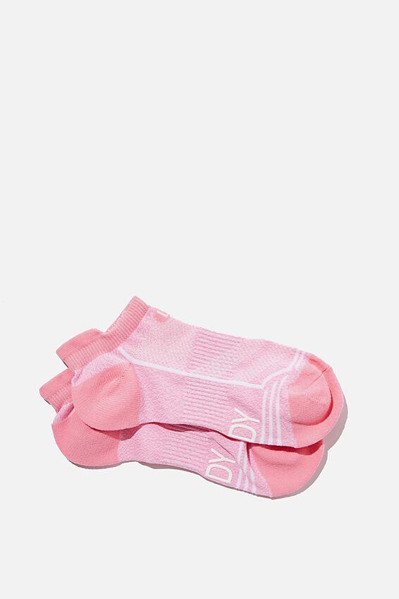 Running Sock, STRAWBERRY MILKSHAKE