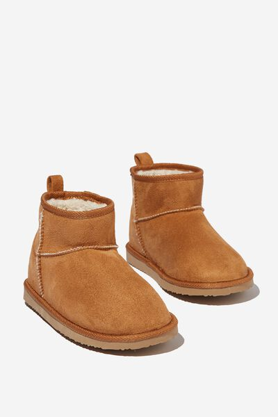 Body Super Cropped Home Boot, MAPLE SYRUP